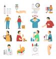 1610i105003pm005c23diabetes symptoms vector image vector image