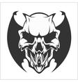 Fierce Gargoyle-Fantasy Winged Beast vector image vector image