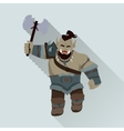 Game Object of Orc vector image vector image