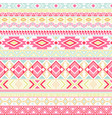 mexican indian pattern tribal ethnic motifs vector image