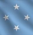 Micronesia flag vector image vector image