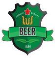 Nove etikete za pivo1 vector image vector image