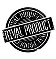 rival product rubber stamp vector image vector image