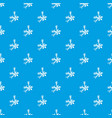 spices pattern seamless blue vector image