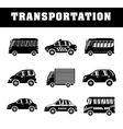 Vehicles and transport vector image vector image