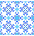 white blue background weave pattern vector image vector image