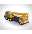 truck isometric design vector image