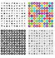 100 nursery icons set variant vector image vector image