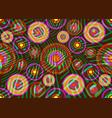 african print fabric ethnic ankara fashion style vector image vector image