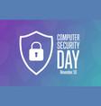 computer security day november 30 holiday