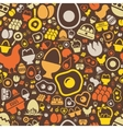 egg seamless pattern vector image vector image