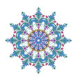 mandala mandala floral mandala flower mandala vector image vector image
