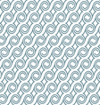Seamless elegant pattern with swirls vector image vector image