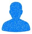User Account Grainy Texture Icon vector image vector image
