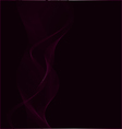 abstract purple smoke vector image vector image