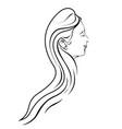 beauty salon women design vector image vector image