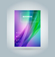 business brochure cover design template modern vector image vector image