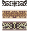 celtic tattoo pattern vector image vector image