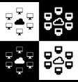Computers nerk sign black and white icons
