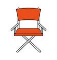 directors chair design vector image vector image