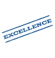 Excellence Watermark Stamp vector image vector image