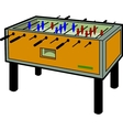 Foosball Table vector image vector image