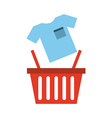 shop for clothes vector image