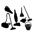 Tools for Cleaning vector image vector image