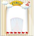A circus entrance vector image