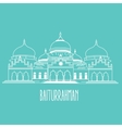 baiturrahman mosque Islam historic building in vector image vector image
