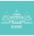 baiturrahman mosque islam historic building in vector image vector image