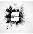 Black frames in a grunge vector image