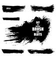 Brush stroke vector image vector image