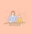childhood motherhood holiday celebration vector image vector image