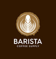 coffee sign for shop and cafe industry vector image vector image