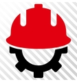 Development Helmet Icon vector image