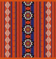 ethnic traditional textile pattern vector image vector image