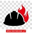 Fire Helmet Eps Icon vector image