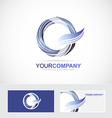 Letter O Q logo icon vector image vector image