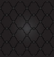 seamless black background pattern vector image vector image