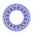 chinese round design vector image vector image