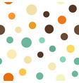 circle pattern seamless background vector image vector image