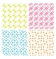 Collection of four simple geometric vector image vector image