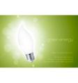 energy saving light bulbs vector image vector image