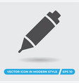pencil icon simple sign for web site and mobile vector image vector image