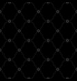 seamless black background pattern vector image