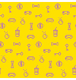 Seamless oldschool gaming inspired pattern vector image vector image