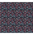 Triangle dark grunge seamless pattern vector image vector image