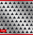 triangle metal background design vector image vector image