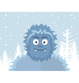 Yeti vector image vector image